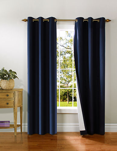 Home Studio Pack of 2 Canvas Window Panels-NAVY-95 inches