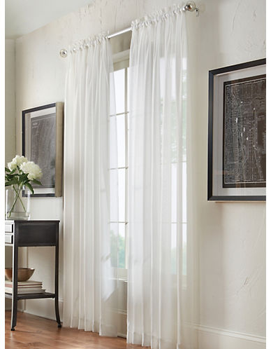 Commonwealth Home Fashions San Marino Sheer Panel-IVORY-95 inches