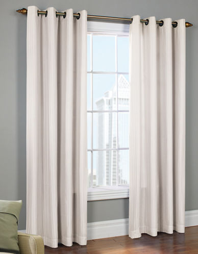 Commonwealth Home Fashions Lined Grommet Curtain-WHITE-95 inches