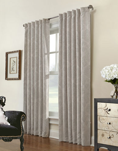 Commonwealth Home Fashions Belgique Embossed Panel-IVORY-84 inches