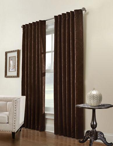 Commonwealth Home Fashions Belgique Embossed Panel-ESPRESSO-One Size