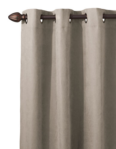 Distinctly Home Snowfield Blackout Drape-TAUPE-96 inches