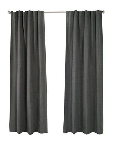 Distinctly Home Cite Drape-PEWTER-84 inches
