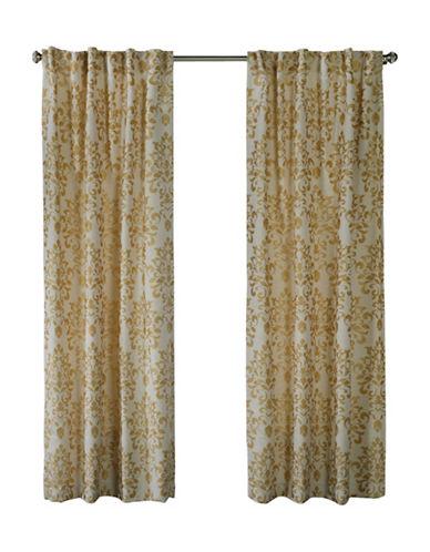 Home Studio Rochelle Jacquard Drape-GOLD-84 inches