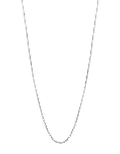 Expression Sterling Silver 20 Sterling Silver Medium Box Chain Necklace-SILVER-18