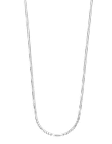Expression Sterling Silver 18 Sterling Silver Snake Chain Necklace-SILVER-18