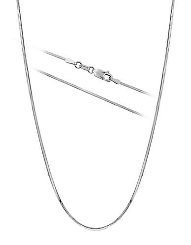 Expression Sterling Silver Sterling Silver Snake Chain Necklace-SILVER-One Size