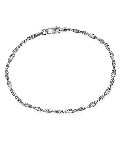 Expression Sterling Silver Sterling Silver Twisted Bracelet-SILVER-One Size