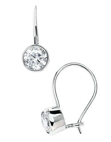 Expression Sterling Silver Sterling Silver Cubic Zirconia Earrings-STERLING SILVER-One Size