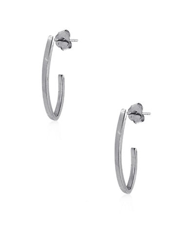 Expression Sterling Silver Sterling Silver V-Shape Earrings-SILVER-One Size