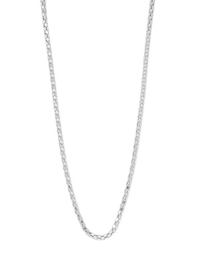 Expression Sterling Silver 24 Sterling Silver Popcorn Chain Necklace-SILVER-One Size