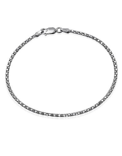 Expression Sterling Silver Sterling Silver Popcorn Chain Bracelet-SILVER-One Size