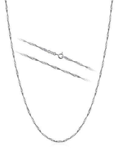 Expression Sterling Silver Sterling Silver Necklace-SILVER-One Size