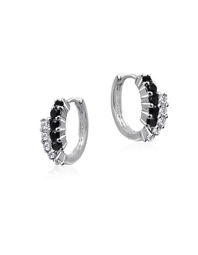 Expression Sterling Silver Sterling Silver Huggie Earrings-SILVER-One Size