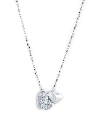 Expression Sterling Silver Sterling Silver Heart Pendant-SILVER-One Size