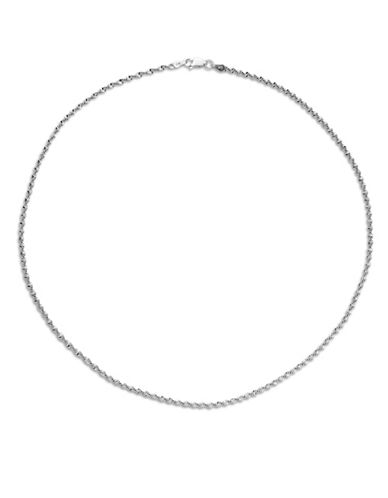 Expression Sterling Silver 18-Inch Sterling Silver Spiral Chain-SILVER-One Size