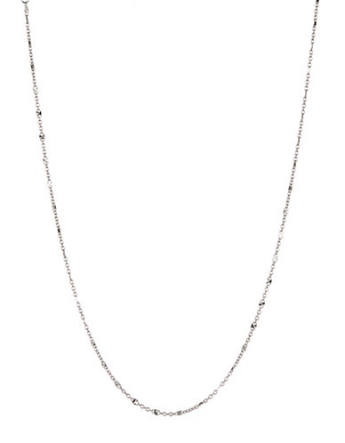 Expression Sterling Silver Sterling Silver Station Necklace-SILVER-One Size