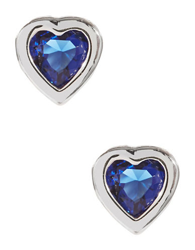 Expression Sterling Silver Sterling Silver Heart Studs-SILVER-One Size