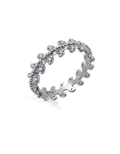 Expression Sterling Silver Sterling Silver Cubic Zirconia Vine Ring-SILVER-7
