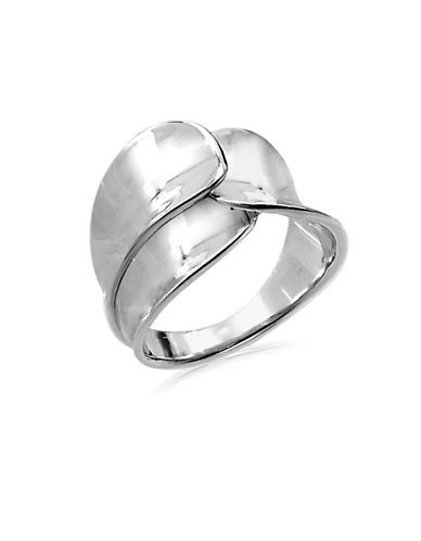 Expression Sterling Silver Sterling Silver Foldover Ring-SILVER-7