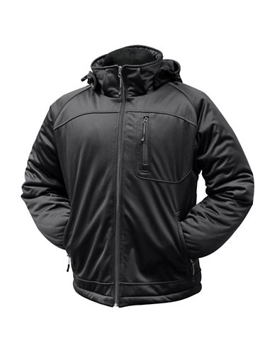 Misty Mountain Quest Insulated Softshell Jacket-BLACK-Medium