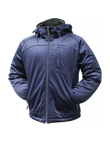 Misty Mountain Quest Insulated Softshell Jacket-NAVY-Large
