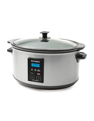 Ricardo Slow Cooker-SILVER-One Size