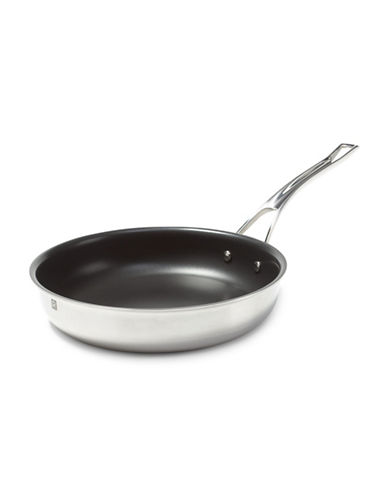 Ricardo 11-Inch Three-Ply Stainless Steel Fry Pan-STAINLESS STEEL-One Size