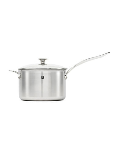 Ricardo 4.2 Quart Three-Ply Stainless Steel Sauté Pan and Lid-STAINLESS STEEL-One Size