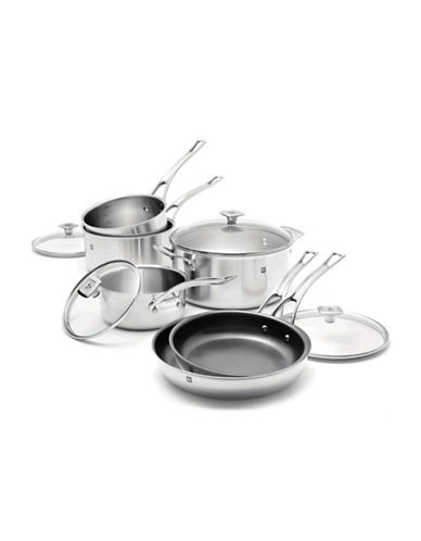 Ricardo 3-Ply 10-Piece Cookware Set - Induction Ready-STAINLESS STEEL-One Size
