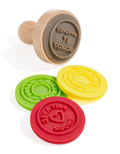 Ricardo Five-Piece Cookie Stamp Set-BROWN-One Size
