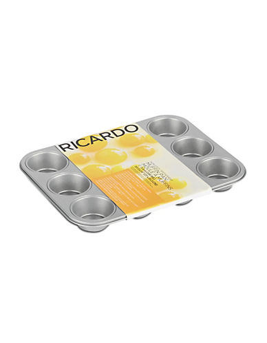 Ricardo Non-Stick Muffin Pan-SILVER-One Size