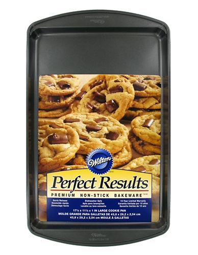 Wilton Large 6-Inch Premium Round Cookie Pan-DARK GREY-One Size