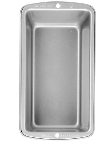 Wilton 8.5-Inch Non-Stick Medium Loaf Pan-SILVER-One Size