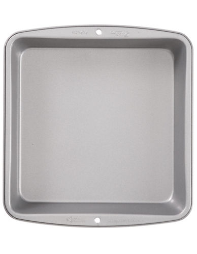 Wilton Non-Stick Square Pan-SILVER-8in