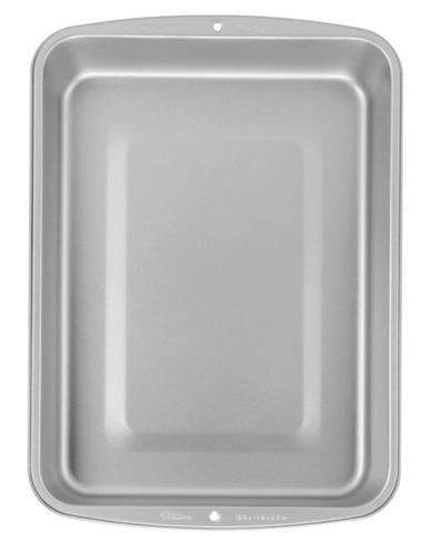 Wilton 15.5-Inch Medium Roasting Pan-SILVER-One Size