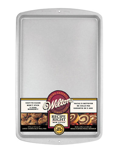 Wilton Recipe Right Cookie Baking Sheet-SILVER-One Size