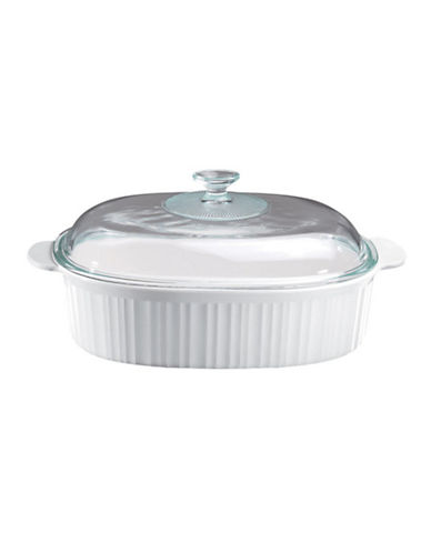 Corningware French White 4 Quart Roaster-WHITE-One Size