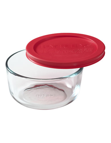 Pyrex Simply Store 2-Cup Round Dish with Cover-CLEAR-One Size