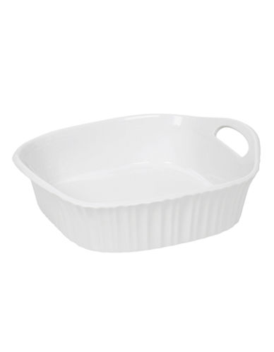 Corningware French White 8x8 Square Baker-WHITE-One Size
