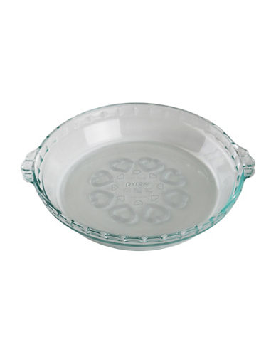 Pyrex Pyrex Love Pie Plate-CLEAR-One Size 89727965_CLEAR_One Size