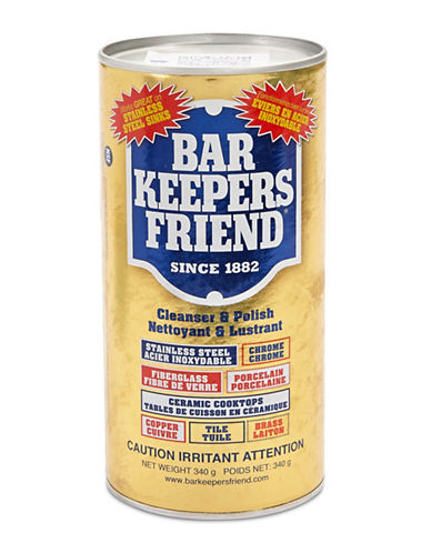 Fox Run Barkeepers Friend Cleanser and Polish-YELLOW-One Size