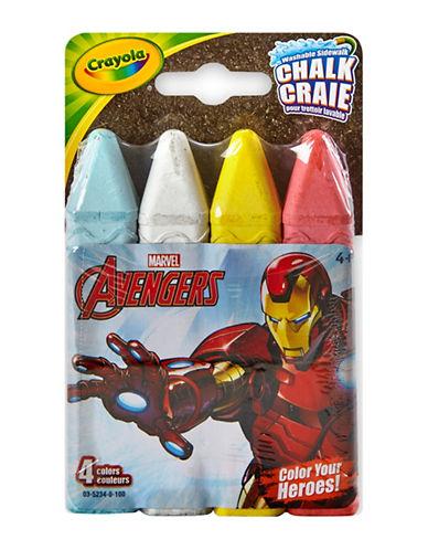 Crayola Avengers Sidewalk Chalk-MULTI-One Size