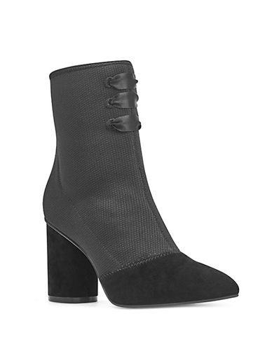 Nine West Cartolina Sock Boot-BLACK-10