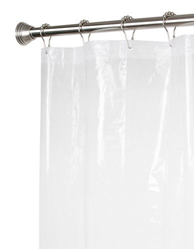 Maytex PEVA Shower Liner-CLEAR-One Size