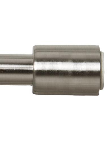 Maytex EZ-Up Shower Curtain Rod-BRUSHED SATIN-One Size