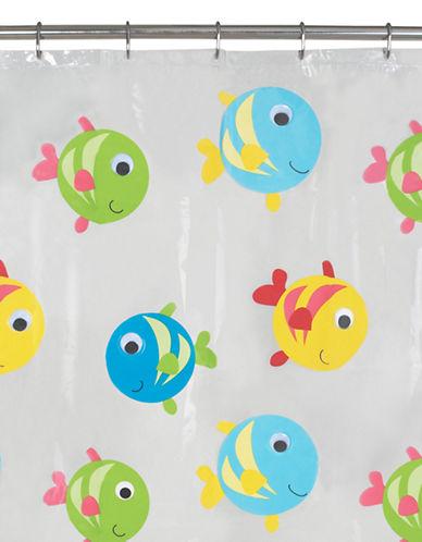 Maytex Gilligan Fishy Shower Curtain-MULTI-One Size