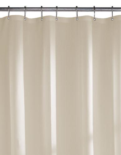 Maytex Soft Shower Curtain Liner-BEIGE-One Size