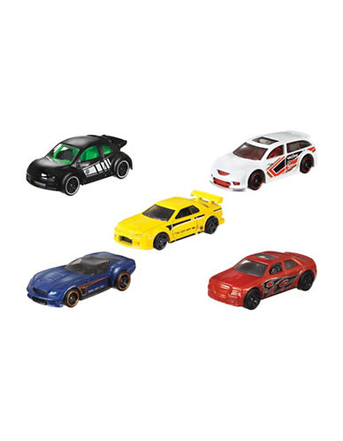 Hot Wheels Basic Five-Car Pack-MULTI-One Size