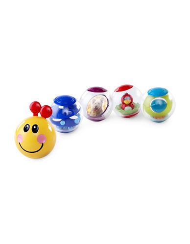 Baby Einstein Roller-Pillar Activity Balls Toy-MULTI-3 Months
